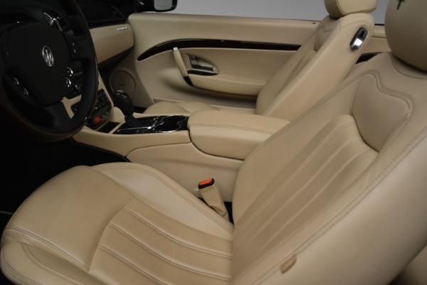 Used 2013 Maserati GranTurismo Convertible for sale Sold at Bugatti of Greenwich in Greenwich CT 06830 26