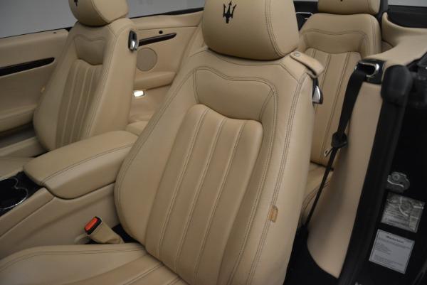 Used 2013 Maserati GranTurismo Convertible for sale Sold at Bugatti of Greenwich in Greenwich CT 06830 27