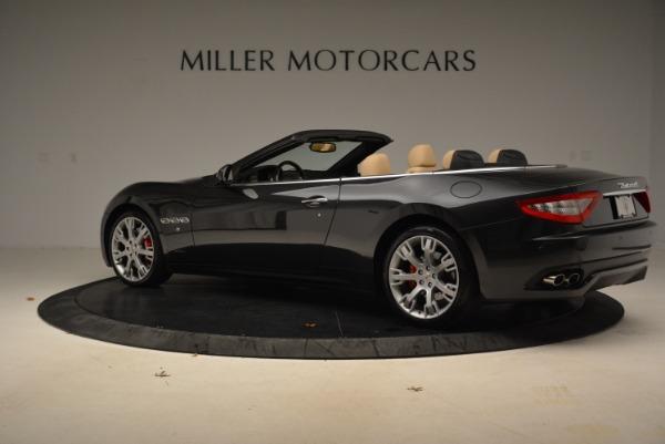 Used 2013 Maserati GranTurismo Convertible for sale Sold at Bugatti of Greenwich in Greenwich CT 06830 4