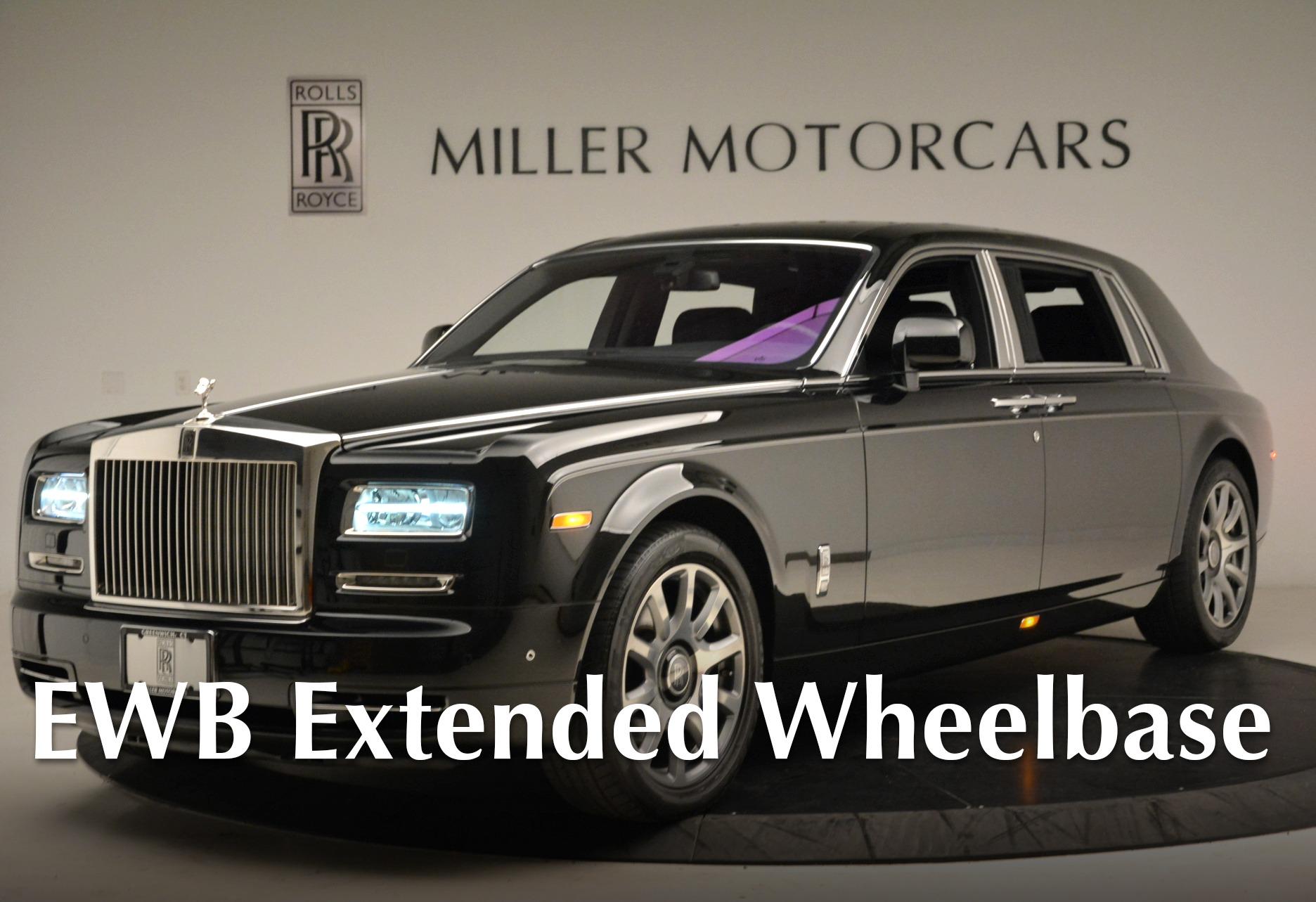 Used 2014 Rolls-Royce Phantom EWB for sale Sold at Bugatti of Greenwich in Greenwich CT 06830 1