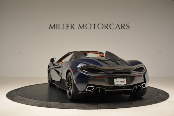 New 2018 McLaren 570S Spider for sale Sold at Bugatti of Greenwich in Greenwich CT 06830 5
