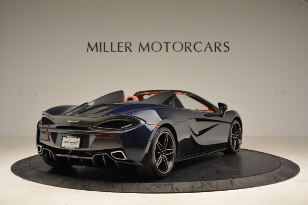 New 2018 McLaren 570S Spider for sale Sold at Bugatti of Greenwich in Greenwich CT 06830 7