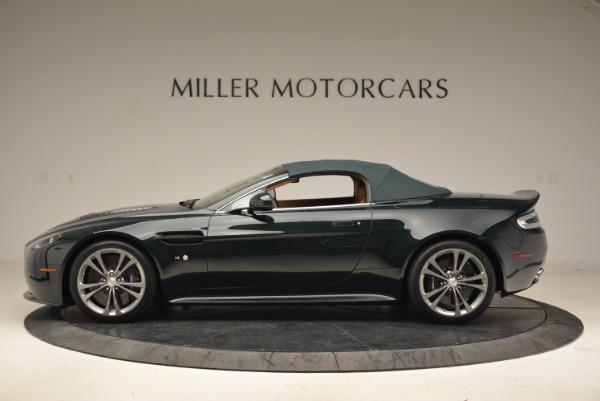 Used 2017 Aston Martin V12 Vantage S Roadster for sale Sold at Bugatti of Greenwich in Greenwich CT 06830 15