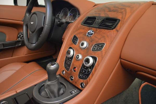 Used 2017 Aston Martin V12 Vantage S Roadster for sale Sold at Bugatti of Greenwich in Greenwich CT 06830 24