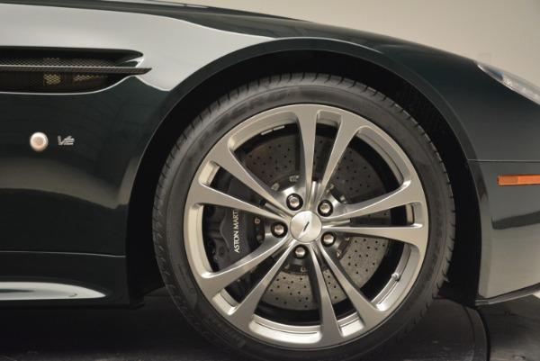 Used 2017 Aston Martin V12 Vantage S Roadster for sale Sold at Bugatti of Greenwich in Greenwich CT 06830 26