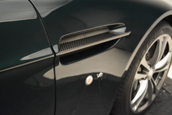 Used 2017 Aston Martin V12 Vantage S Roadster for sale Sold at Bugatti of Greenwich in Greenwich CT 06830 27