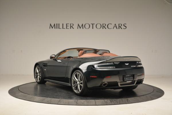 Used 2017 Aston Martin V12 Vantage S Roadster for sale Sold at Bugatti of Greenwich in Greenwich CT 06830 5