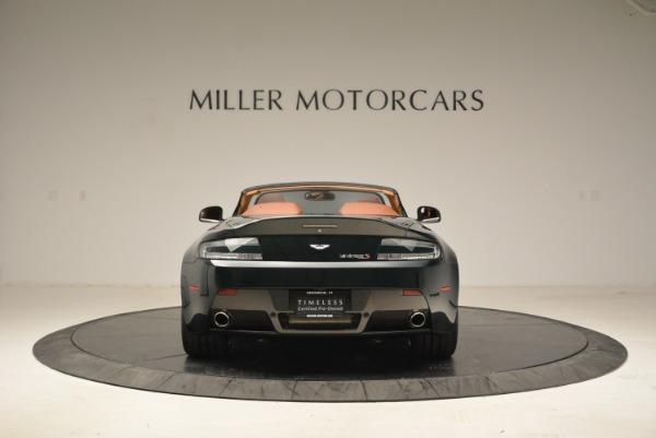 Used 2017 Aston Martin V12 Vantage S Roadster for sale Sold at Bugatti of Greenwich in Greenwich CT 06830 6