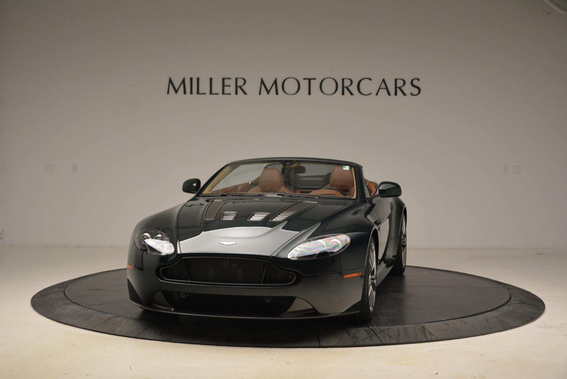 Used 2017 Aston Martin V12 Vantage S Roadster for sale Sold at Bugatti of Greenwich in Greenwich CT 06830 1