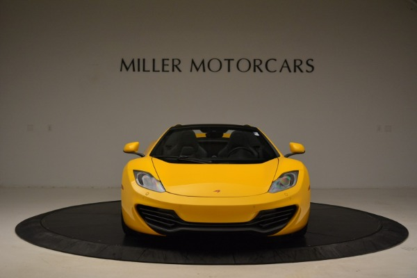 Used 2014 McLaren MP4-12C Spider for sale Sold at Bugatti of Greenwich in Greenwich CT 06830 12