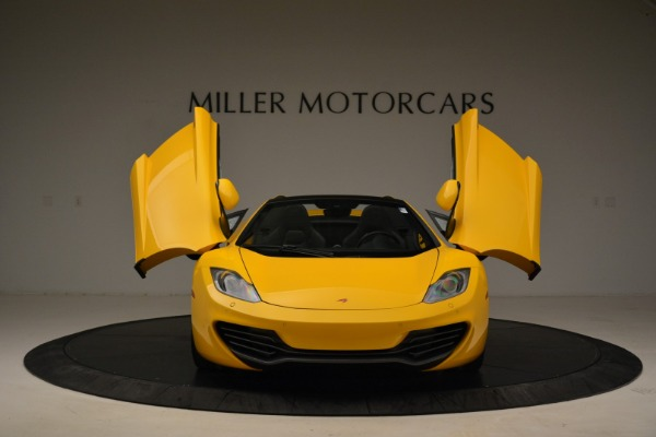 Used 2014 McLaren MP4-12C Spider for sale Sold at Bugatti of Greenwich in Greenwich CT 06830 13