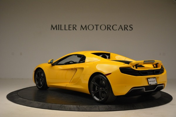 Used 2014 McLaren MP4-12C Spider for sale Sold at Bugatti of Greenwich in Greenwich CT 06830 17