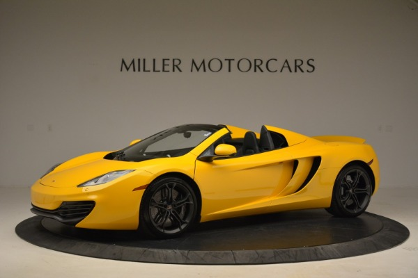 Used 2014 McLaren MP4-12C Spider for sale Sold at Bugatti of Greenwich in Greenwich CT 06830 2