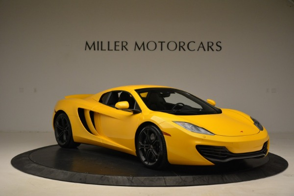 Used 2014 McLaren MP4-12C Spider for sale Sold at Bugatti of Greenwich in Greenwich CT 06830 21