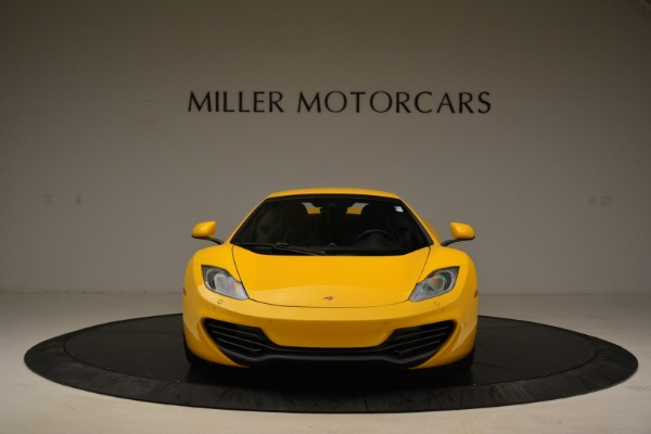 Used 2014 McLaren MP4-12C Spider for sale Sold at Bugatti of Greenwich in Greenwich CT 06830 22
