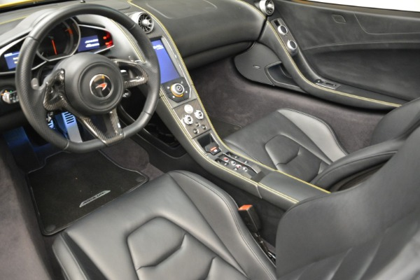 Used 2014 McLaren MP4-12C Spider for sale Sold at Bugatti of Greenwich in Greenwich CT 06830 25