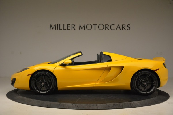 Used 2014 McLaren MP4-12C Spider for sale Sold at Bugatti of Greenwich in Greenwich CT 06830 3