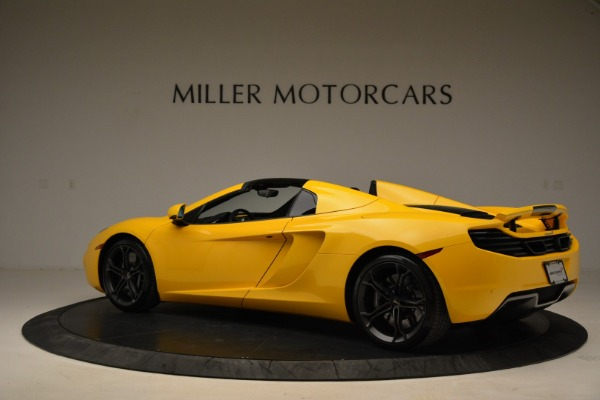 Used 2014 McLaren MP4-12C Spider for sale Sold at Bugatti of Greenwich in Greenwich CT 06830 4