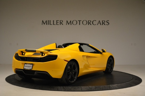 Used 2014 McLaren MP4-12C Spider for sale Sold at Bugatti of Greenwich in Greenwich CT 06830 7