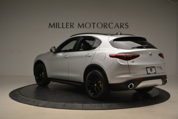 New 2018 Alfa Romeo Stelvio Ti Sport Q4 for sale Sold at Bugatti of Greenwich in Greenwich CT 06830 5