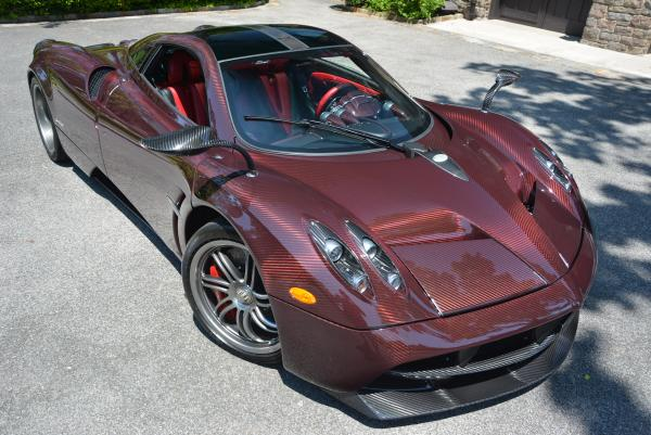 Used 2014 Pagani Huayra for sale Sold at Bugatti of Greenwich in Greenwich CT 06830 3
