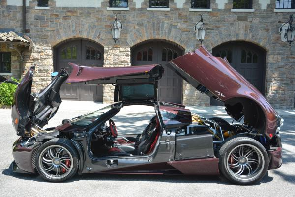 Used 2014 Pagani Huayra for sale Sold at Bugatti of Greenwich in Greenwich CT 06830 8