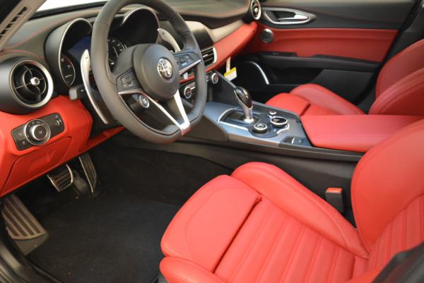 New 2018 Alfa Romeo Giulia Ti Sport Q4 for sale Sold at Bugatti of Greenwich in Greenwich CT 06830 13