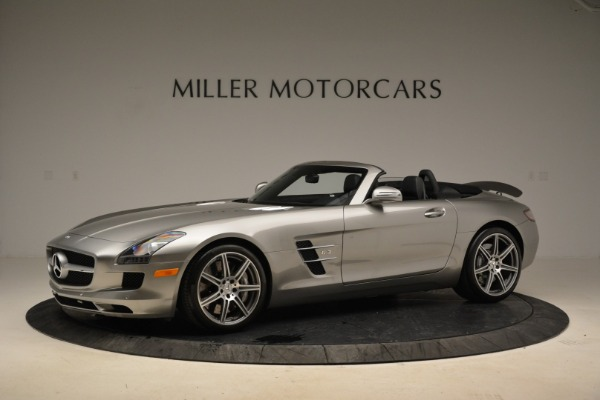 Used 2012 Mercedes-Benz SLS AMG for sale Sold at Bugatti of Greenwich in Greenwich CT 06830 2