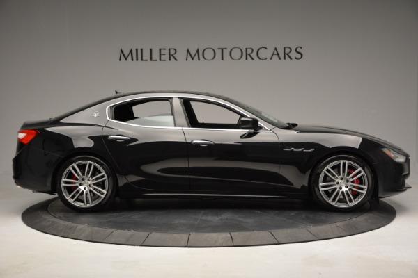 Used 2015 Maserati Ghibli S Q4 for sale Sold at Bugatti of Greenwich in Greenwich CT 06830 9
