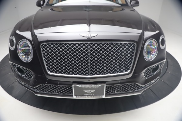Used 2018 Bentley Bentayga W12 Signature for sale Call for price at Bugatti of Greenwich in Greenwich CT 06830 13