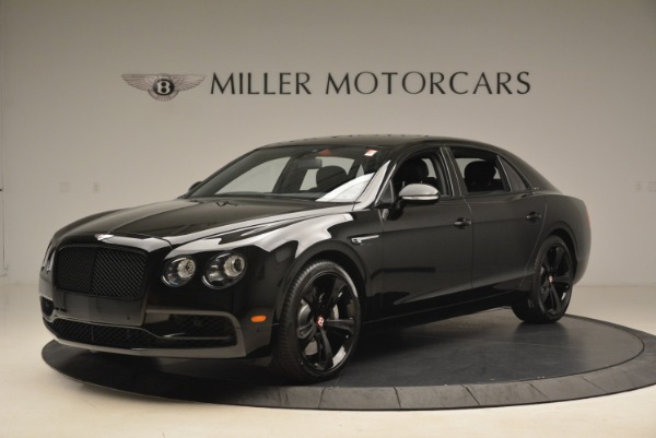 New 2018 Bentley Flying Spur V8 S Black Edition for sale Sold at Bugatti of Greenwich in Greenwich CT 06830 2