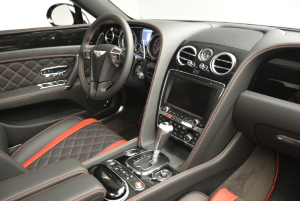 New 2018 Bentley Flying Spur V8 S Black Edition for sale Sold at Bugatti of Greenwich in Greenwich CT 06830 23