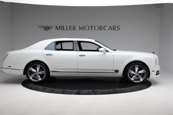 Used 2018 Bentley Mulsanne Speed for sale Sold at Bugatti of Greenwich in Greenwich CT 06830 8