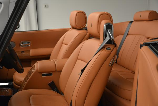 New 2016 Rolls-Royce Phantom Drophead Coupe Bespoke for sale Sold at Bugatti of Greenwich in Greenwich CT 06830 27
