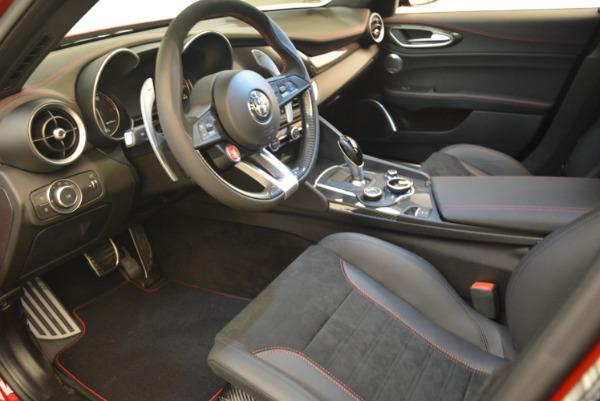 New 2018 Alfa Romeo Giulia Quadrifoglio for sale Sold at Bugatti of Greenwich in Greenwich CT 06830 13