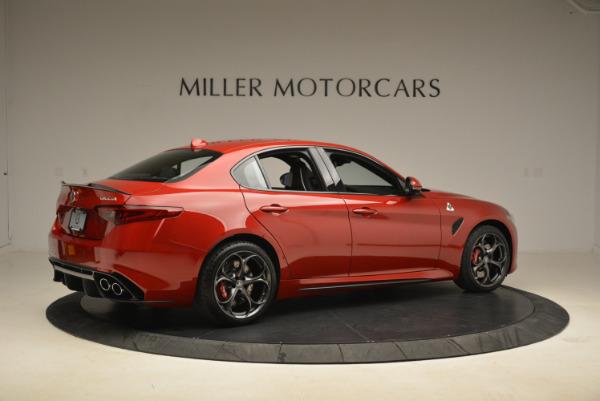 New 2018 Alfa Romeo Giulia Quadrifoglio for sale Sold at Bugatti of Greenwich in Greenwich CT 06830 8