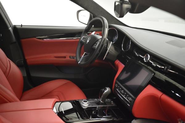 New 2018 Maserati Quattroporte S Q4 GranLusso for sale Sold at Bugatti of Greenwich in Greenwich CT 06830 27