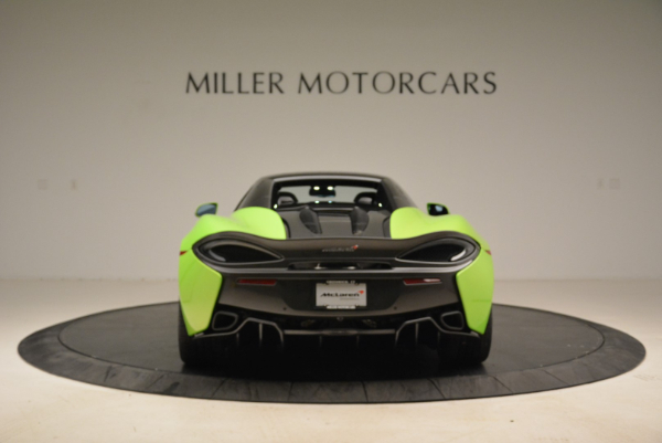 New 2018 McLaren 570S Spider for sale Sold at Bugatti of Greenwich in Greenwich CT 06830 18