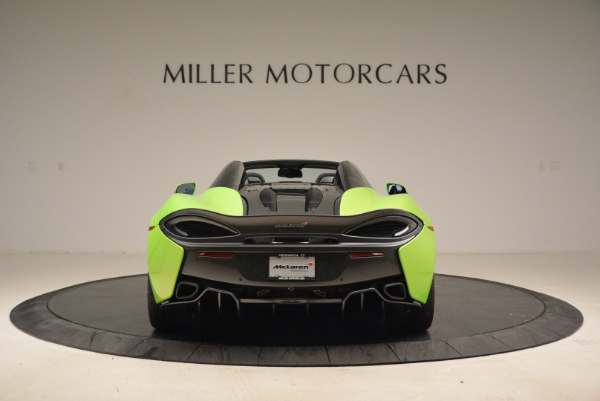 New 2018 McLaren 570S Spider for sale Sold at Bugatti of Greenwich in Greenwich CT 06830 6