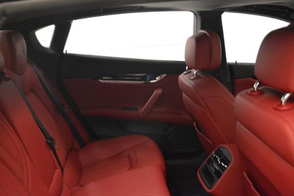 New 2018 Maserati Quattroporte S Q4 GranLusso for sale Sold at Bugatti of Greenwich in Greenwich CT 06830 28