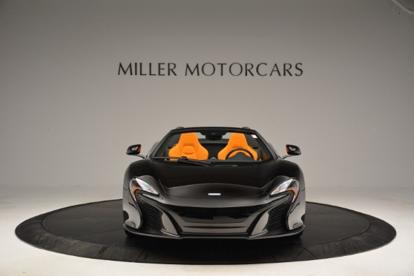 Used 2015 McLaren 650S Spider for sale Sold at Bugatti of Greenwich in Greenwich CT 06830 12