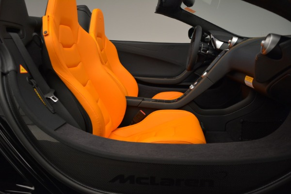 Used 2015 McLaren 650S Spider for sale Sold at Bugatti of Greenwich in Greenwich CT 06830 27