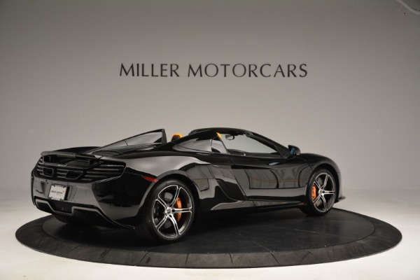 Used 2015 McLaren 650S Spider for sale Sold at Bugatti of Greenwich in Greenwich CT 06830 8