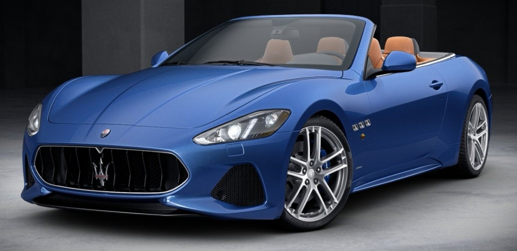 New 2018 Maserati GranTurismo Sport Convertible for sale Sold at Bugatti of Greenwich in Greenwich CT 06830 1