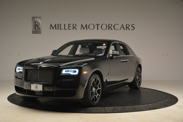 Used 2017 Rolls-Royce Ghost Black Badge for sale Sold at Bugatti of Greenwich in Greenwich CT 06830 1
