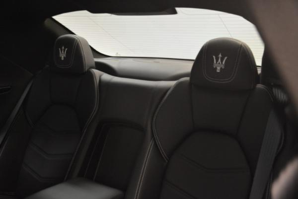 Used 2016 Maserati GranTurismo Sport for sale $61,900 at Bugatti of Greenwich in Greenwich CT 06830 21