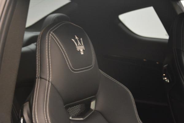 Used 2016 Maserati GranTurismo Sport for sale $61,900 at Bugatti of Greenwich in Greenwich CT 06830 27