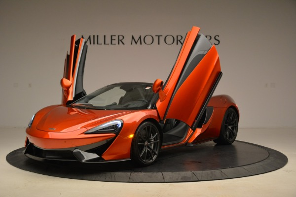 New 2018 McLaren 570S Spider for sale Sold at Bugatti of Greenwich in Greenwich CT 06830 14