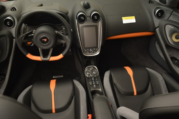 New 2018 McLaren 570S Spider for sale Sold at Bugatti of Greenwich in Greenwich CT 06830 28