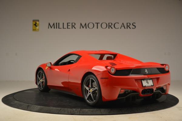 Used 2014 Ferrari 458 Spider for sale Sold at Bugatti of Greenwich in Greenwich CT 06830 17